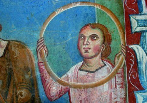Temi dell'antico negli affreschi dell'Aula Gotica: temi figurativi e confronti