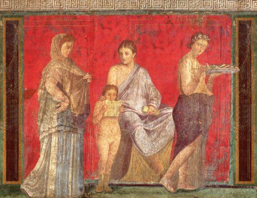 Stannato di piombo, cinabro e malachite: così i pittori romani dipingevano le splendide ville di Pompei