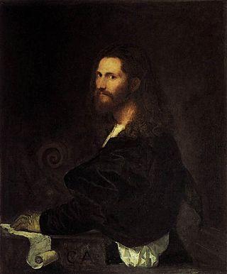 Tiziano Vecellio, Ritratto di musico, 1515-20, olio su tela, Roma, Galleria Spada.