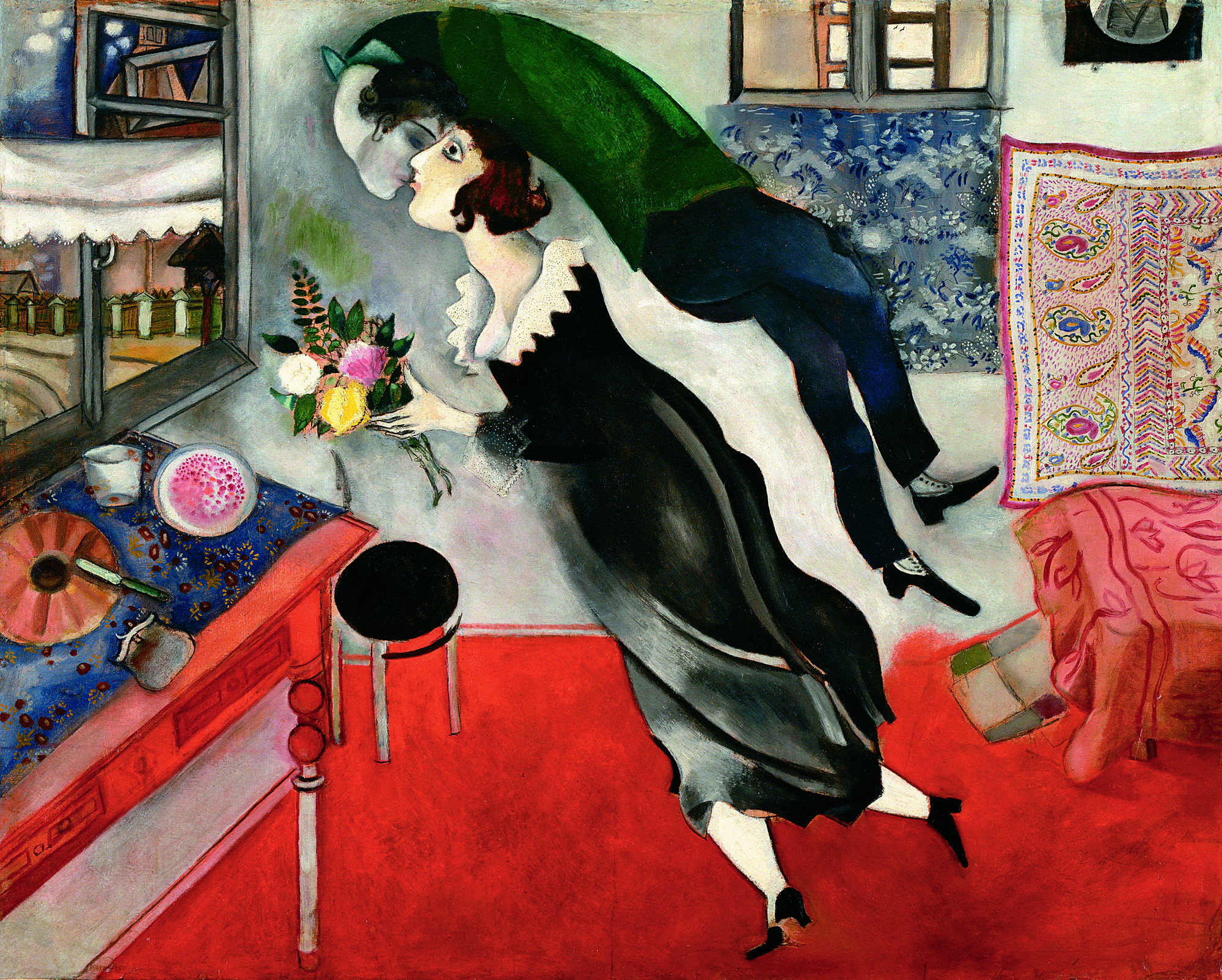 Marc Chagall, Il compleanno, 1915.