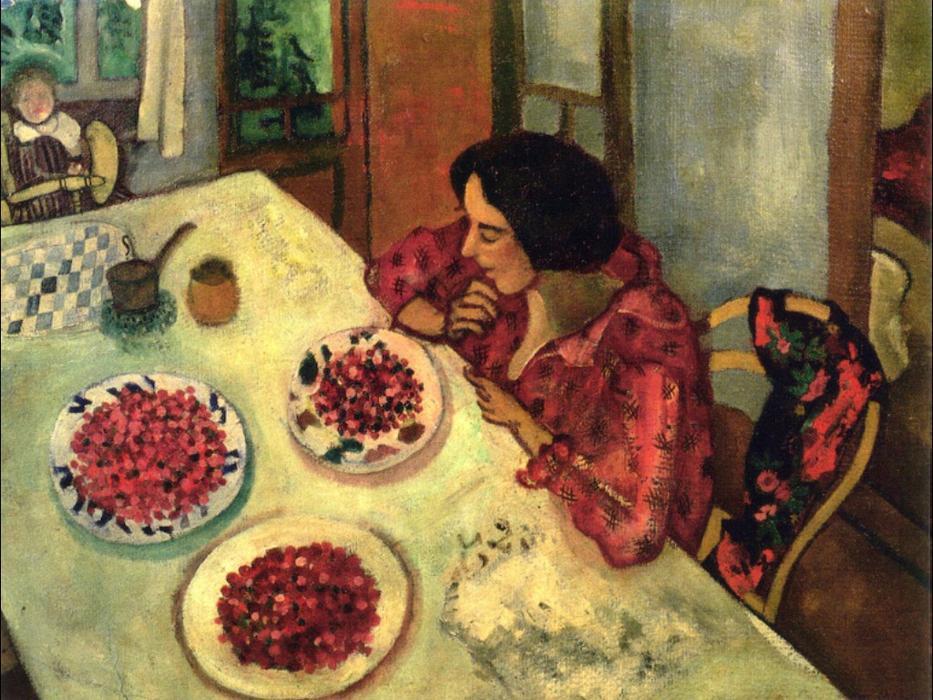 Marc Chagall, Le fragole, 1916
