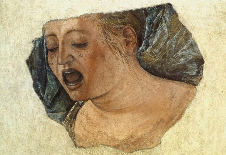 Ercole de Roberti, Maddalena piangente, cm 39,3×39,3 , Bologna Pinacoteca Nazionale