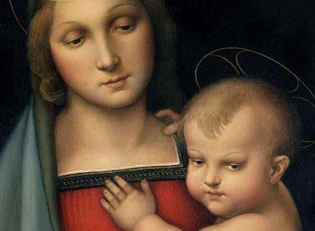 Raffaello: un paesaggio dietro la Madonna del Granduca