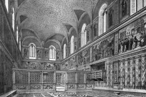 La Cappella Sistina prima di Michelangelo