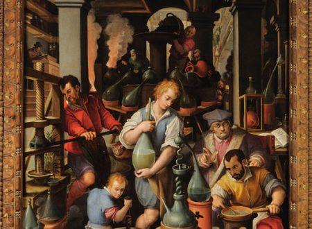 Lo studiolo di Francesco I de' Medici: alchimia e arte