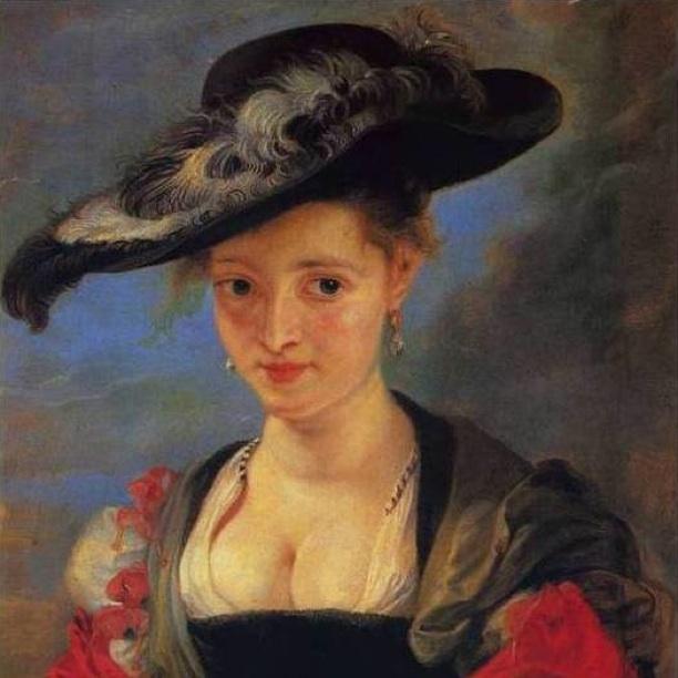 Rubens. Il cappello di paglia.
