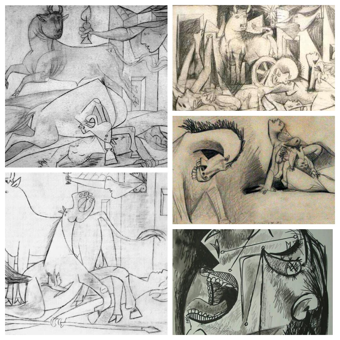 Studi per Guernica
