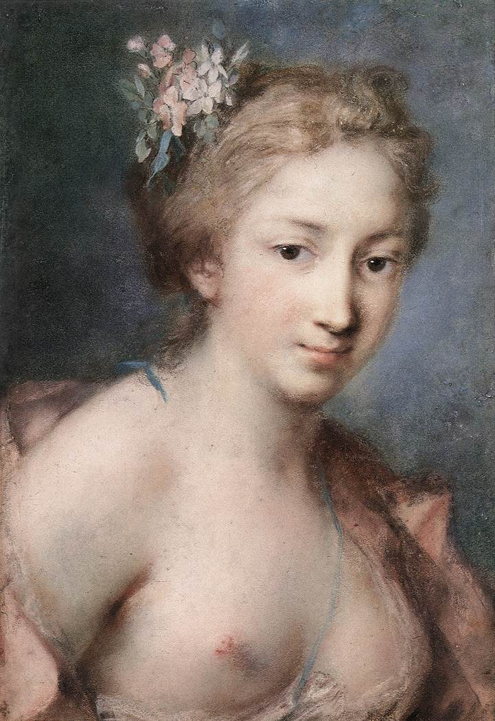 Rosalba Carriera, Flora.