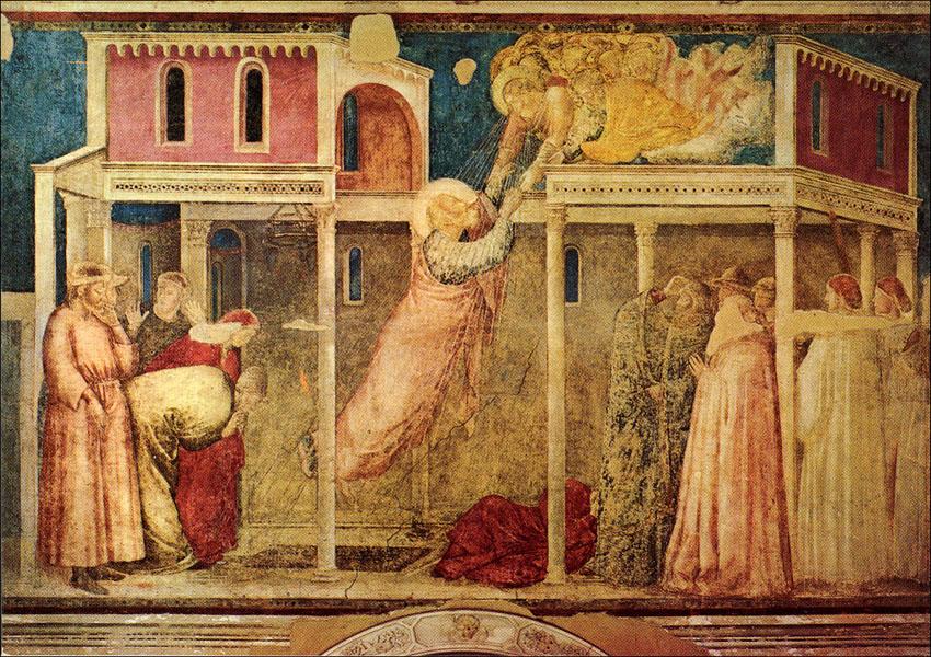 Giotto, affreschi della Cappella Peruzzi