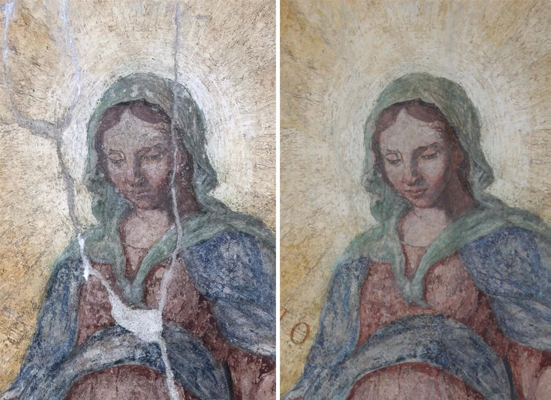 Le Fasi Di Intervento Nel Restauro Dei Dipinti Murali Restaurars