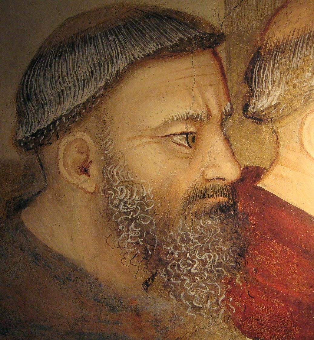 Maso di Banco, particolare degli affreschi della Cappella Bardi