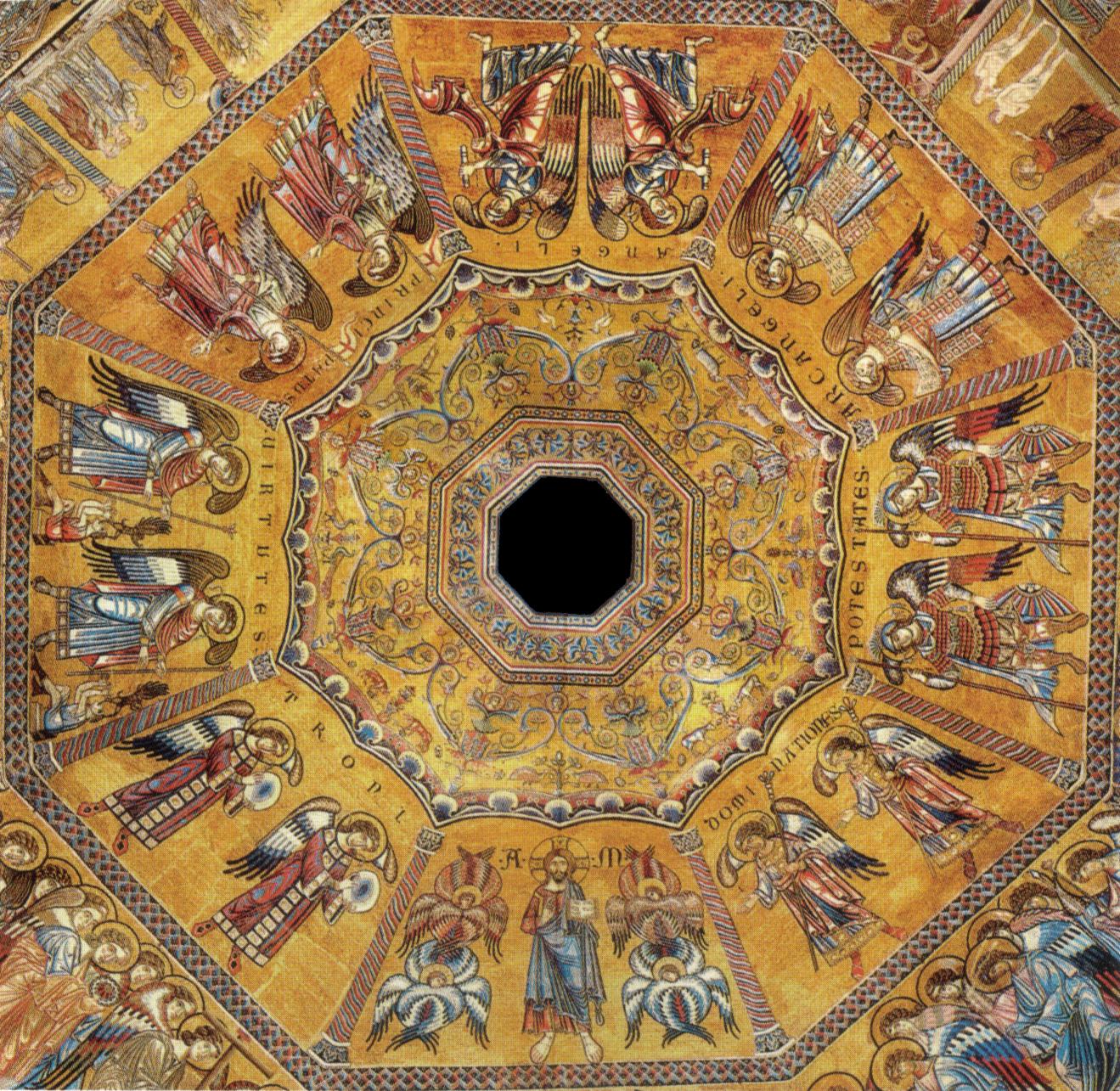 Firenze, Mosaici del Battistero