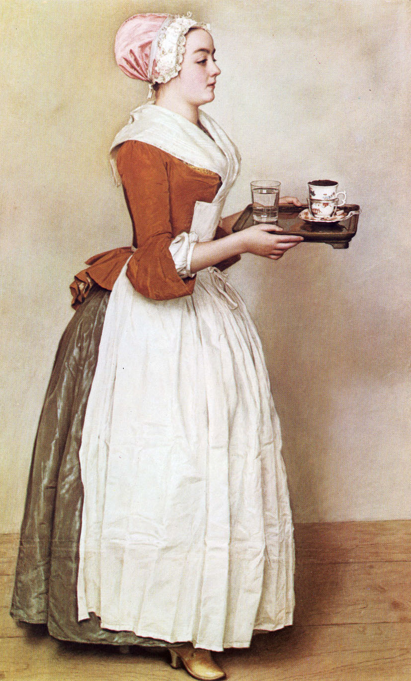 Liotard, La bella cioccolataia.
