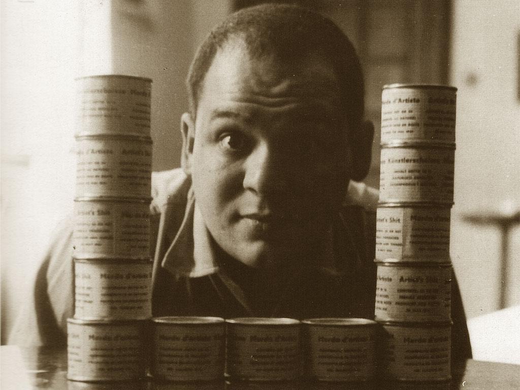 Piero Manzoni e le sue scatolette