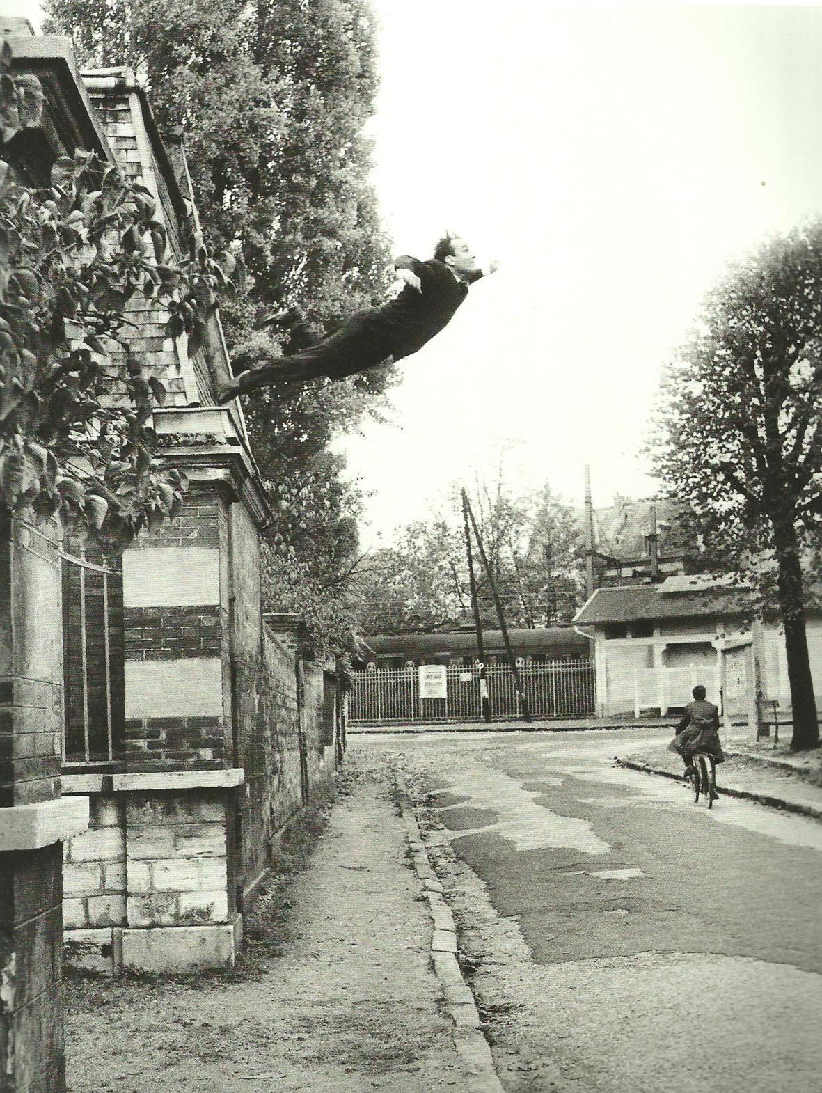 "Yves Klein, ""Le vide"""