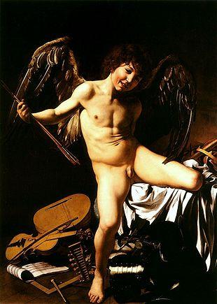 310px-Caravaggio_-_Amor_vincit_omnia