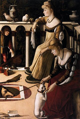 Vittore Carpaccio, Due dame veneziane