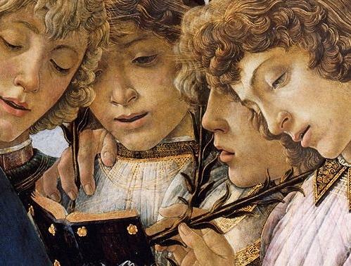 Una delle opere dipinte da Botticelli e dai suoi aiuti.
