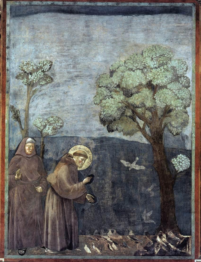 Giotto_di_Bondone_-_Legend_of_St_Francis_-_15._Sermon_to_the_Birds_-_WGA09139