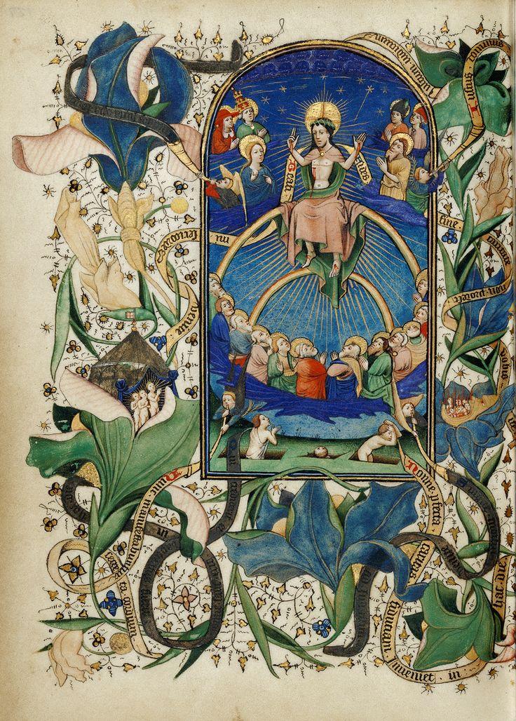 J. Paul Getty Museum, Los Angeles - Het laatste oordeel - Meester Guillebert van Metz (ca. 1450-1455)