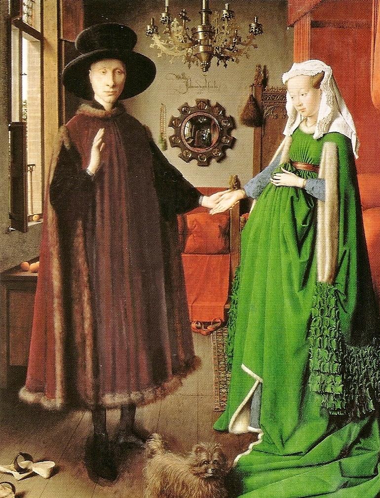 Jan Van Eyck, I coniugi Arnofini.