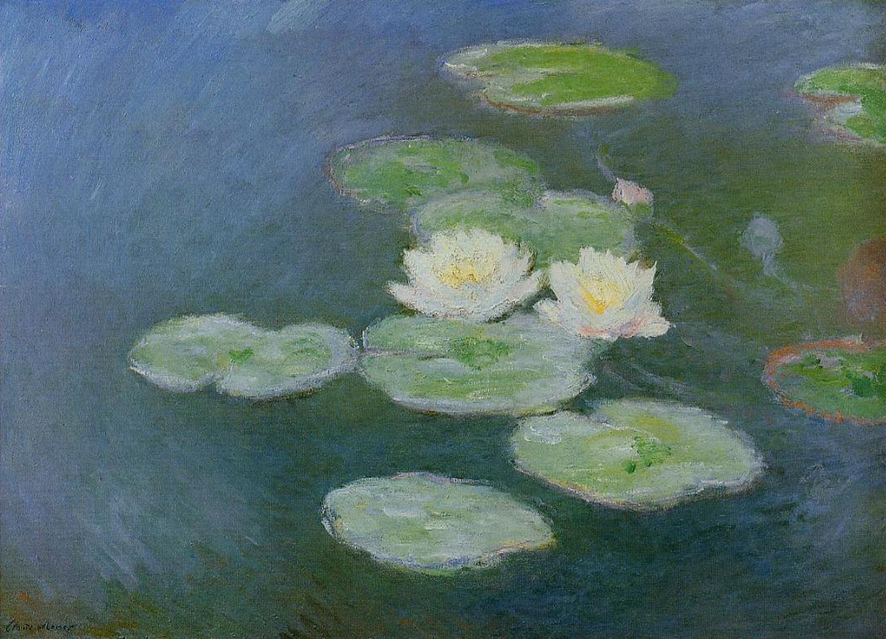 water-lilies-evening-effect-1899