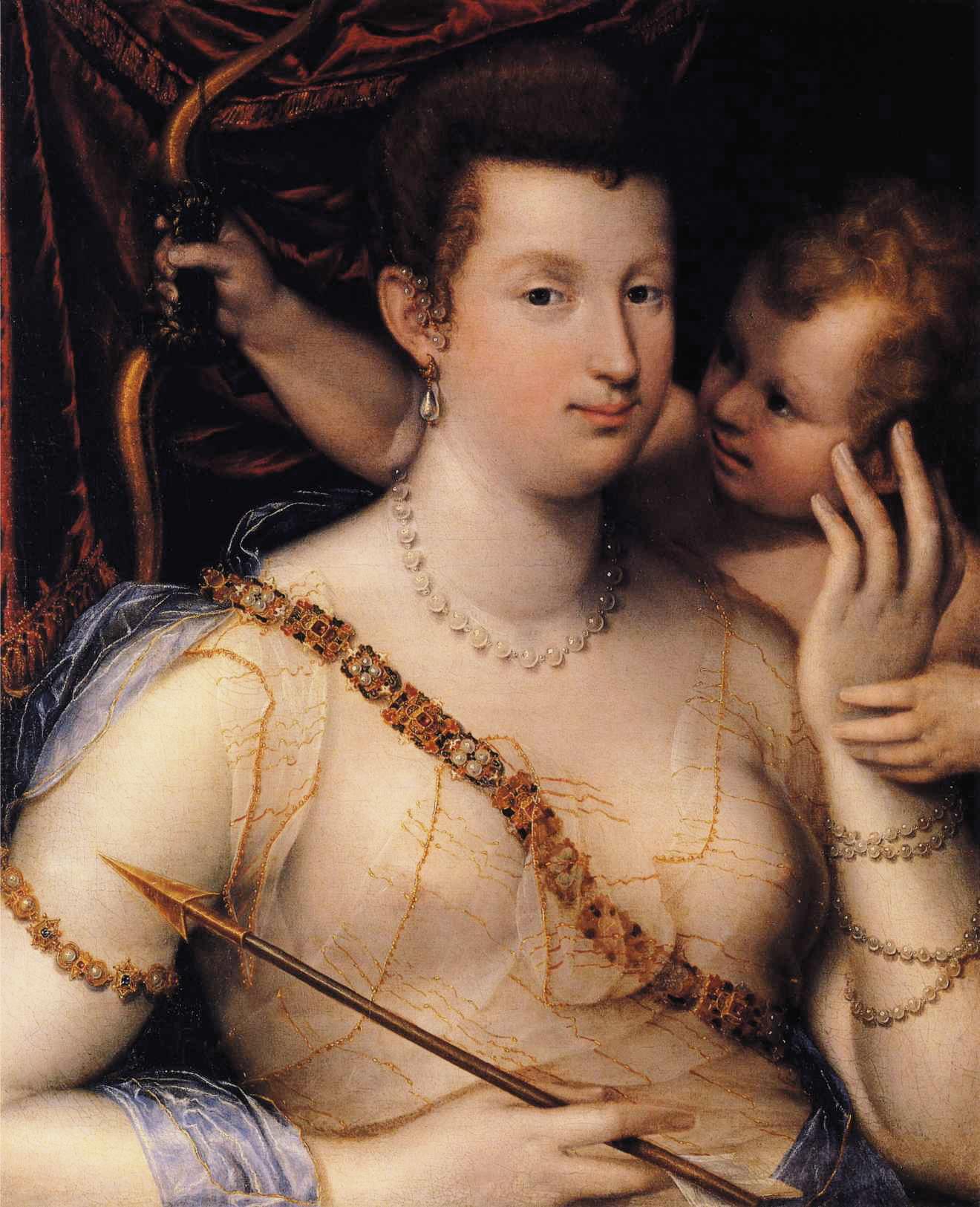 Lavinia Fontana, Isabella Ruini come Venere, 1592