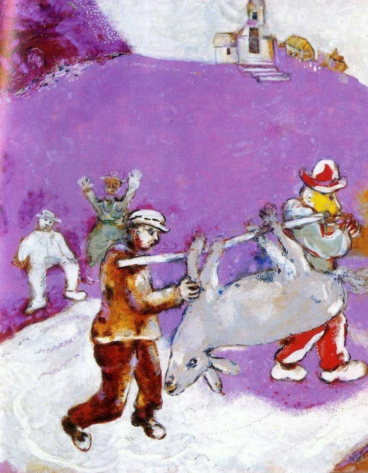 Marc Chagall, colori per sognare. Le illustrazioni per le fiabe di La  Fontaine | RestaurArs