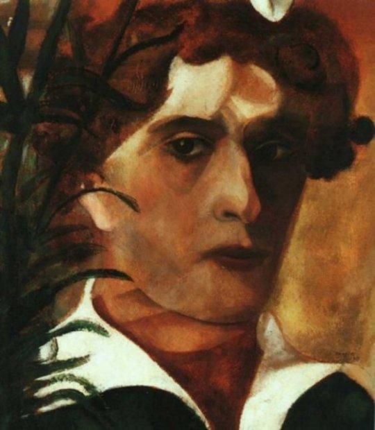 Chagall_Autoritratto