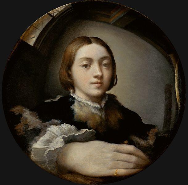 Parmigianino-autoritratto-entro-uno-specchio-convesso-1524