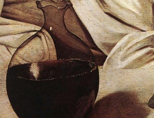 Un autoritratto di Caravaggio nascosto nella brocca di 'Bacco'