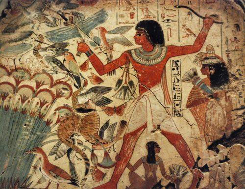 La pittura degli Egizi: gli albori dell'alchimia