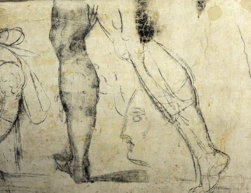 Firenze: la stanza segreta dei disegni di Michelangelo