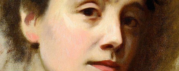Ritratto di Eleonora Duse realizzato da Michele Gordigiani, 1897