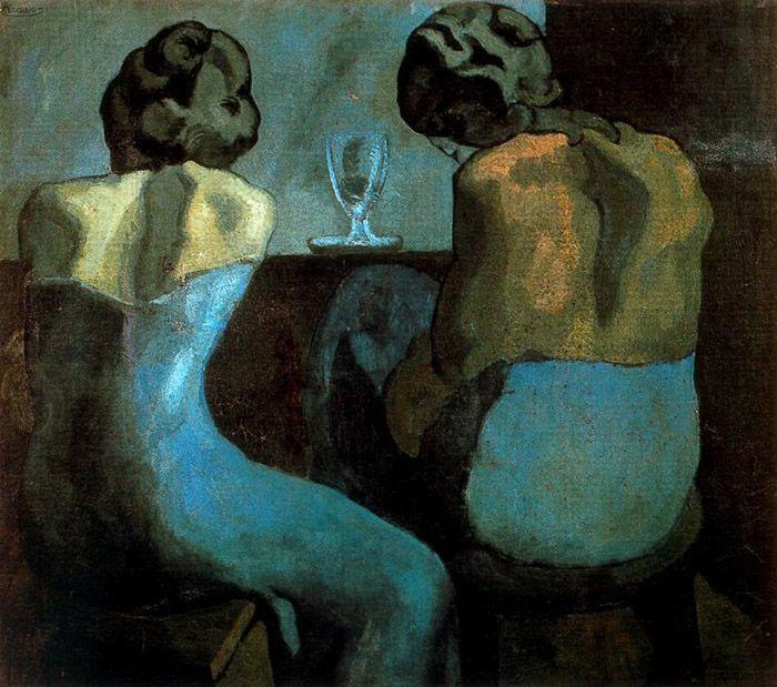 Pablo Picasso, Prostitute in un bar, 1902