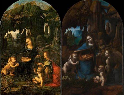 La 'Vergine delle rocce' tra Louvre e National Gallery