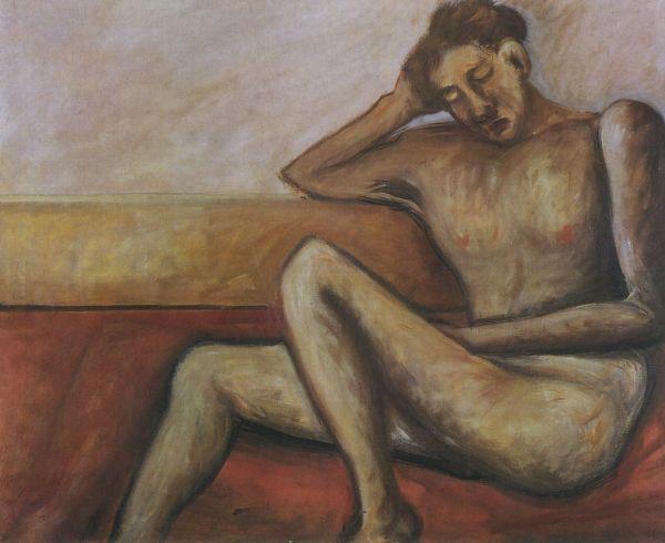 Ottone Rosai, Nudo giovane