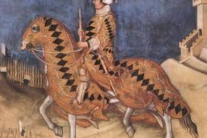Simone Martini a Siena: Guidoriccio da Fogliano, l'immagine del cavaliere medievale