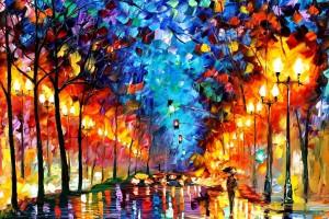 Leonid Afremov: un impressionista dell'età contemporanea