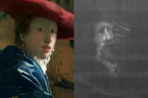 """Vermeer: i raggi X svelano un ritratto nascosto sotto la """"Ragazza con cappello rosso"""""""