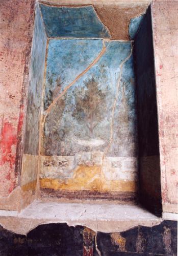 auditorium_mecenate_affresco_nicchia_affrescata_2