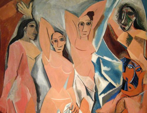 "Picasso, ""Les demoiselles d'Avignon"": l'alba del Cubismo"