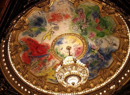 Marc Chagall e la splendida decorazione della cupola dell'Opéra Garnier di Parigi