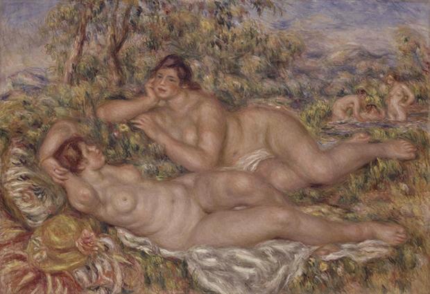 Pierre Auguste Renoir. Bagnanti, 1918-1919