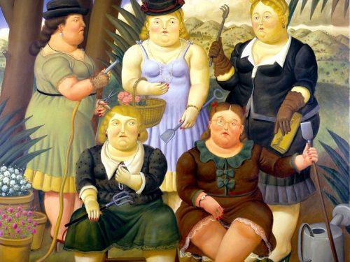 """Fernando Botero: """"l'insostenibile leggerezza dell'essere"""""""