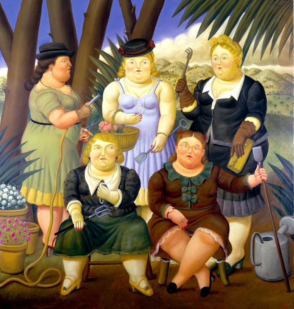 oil-painting-reproduction-on-canvas-by-font-b-Fernando-b-font-font-b-Botero-b-font