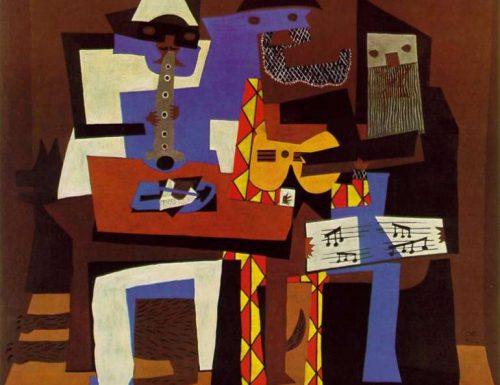 """Dentro l'opera: """"I tre musici"""" (1921) di Picasso"""