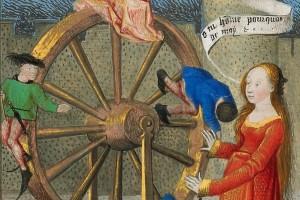 """La ruota della Fortuna: """"oggi a me, domani a te"""". Storia e iconografia"""