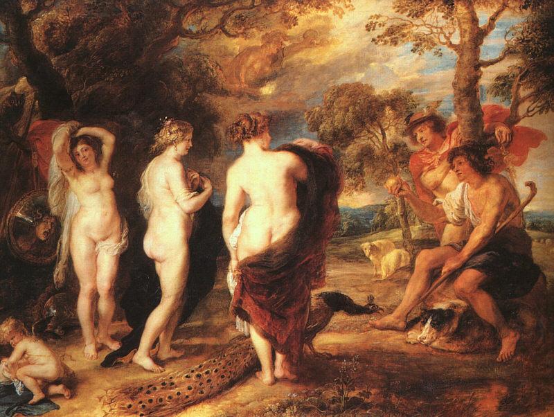 Rubens, Il giudizio di Paride, 1635-38