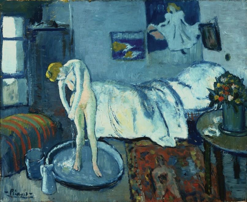Pablo Picasso, La camera blu, 1901